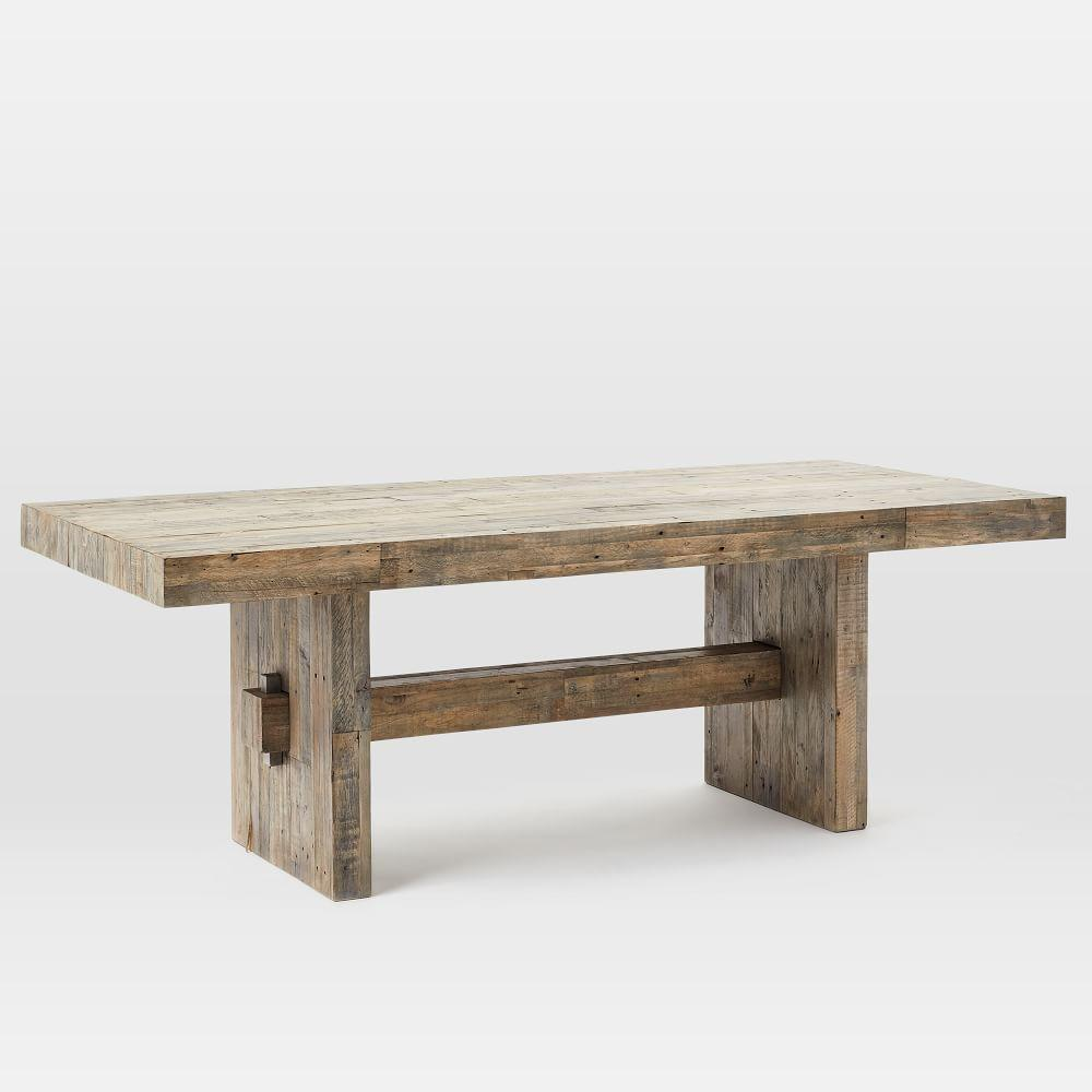 Emmerson Reclaimed Wood Dining Table West Elm UK - Cheap reclaimed wood dining table
