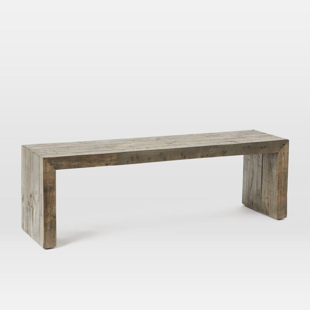 EmmersonR Reclaimed Wood Dining Bench