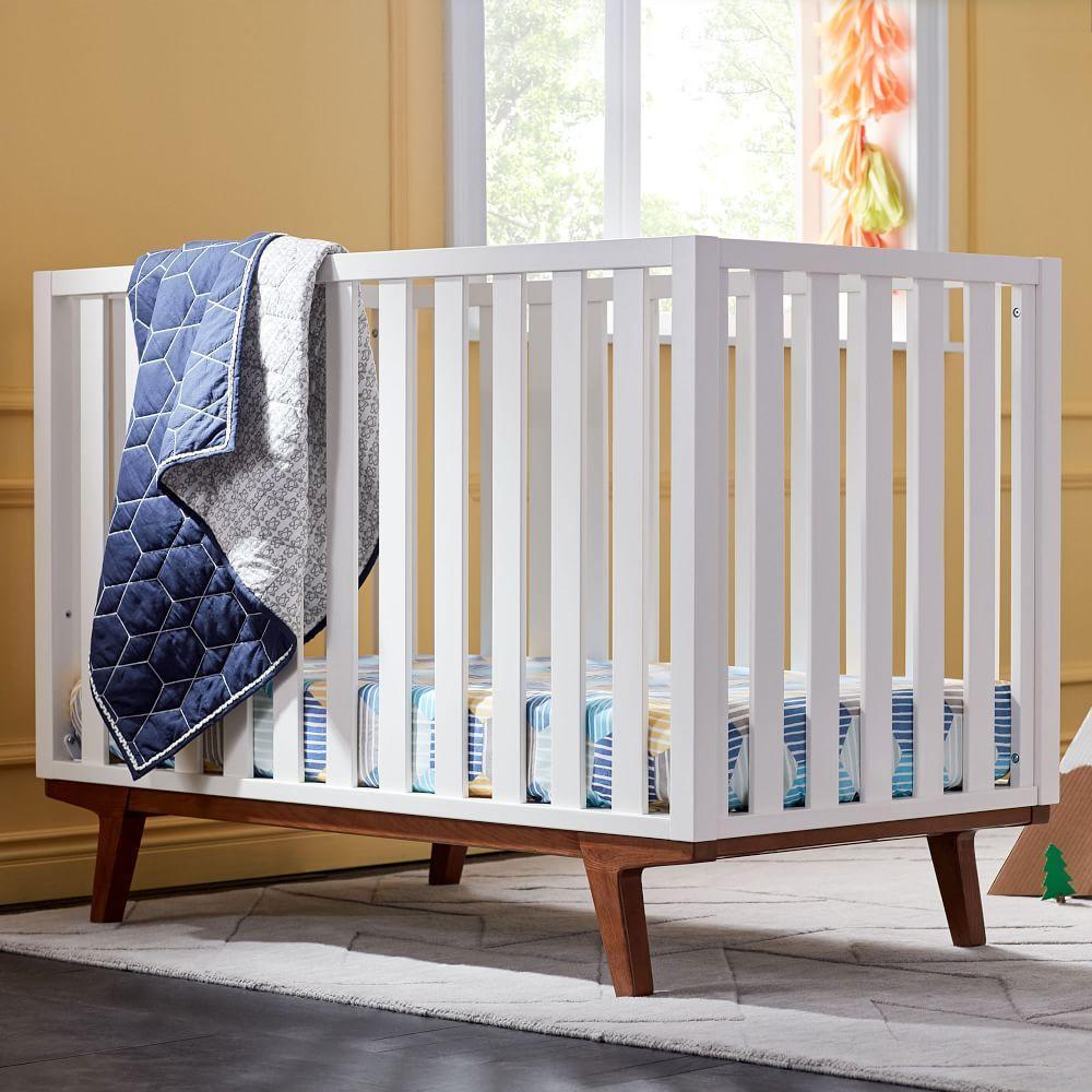 Honeycomb Toddler Quilt - Nightshade