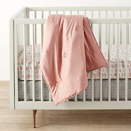 Washed TENCEL™ Toddler Comforter - Rosette