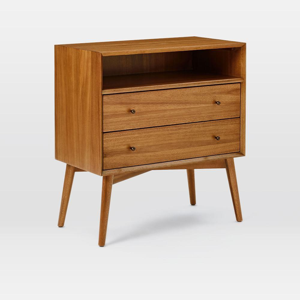 Mid Century Bedside Table Grand West Elm Uk