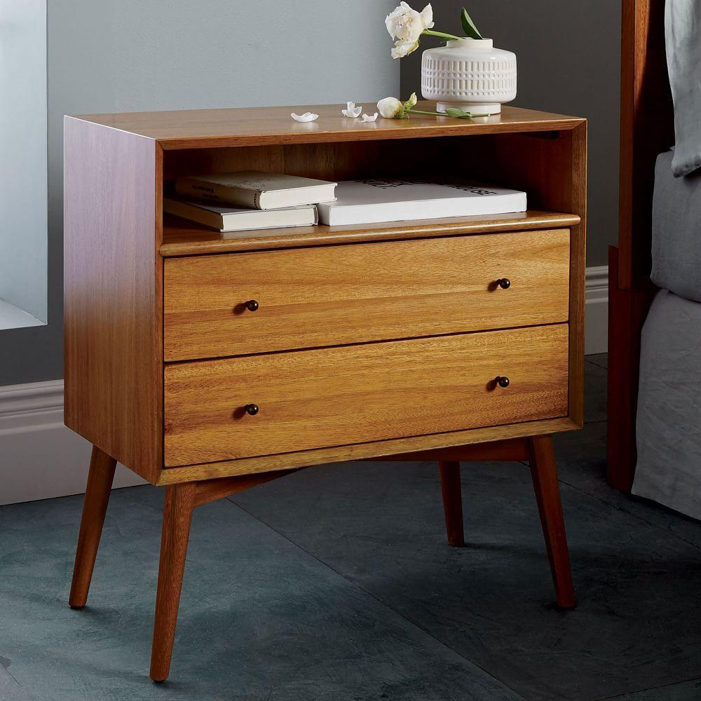 Mid Century Bedside Table