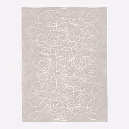 Lori Weitzner Walkabout Rug - White/Taupe