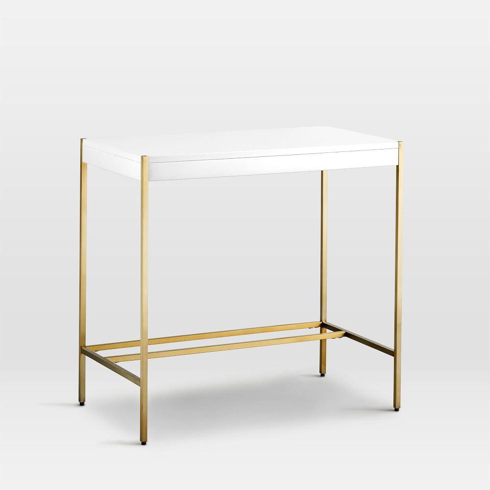 Zane Mini Desk - White