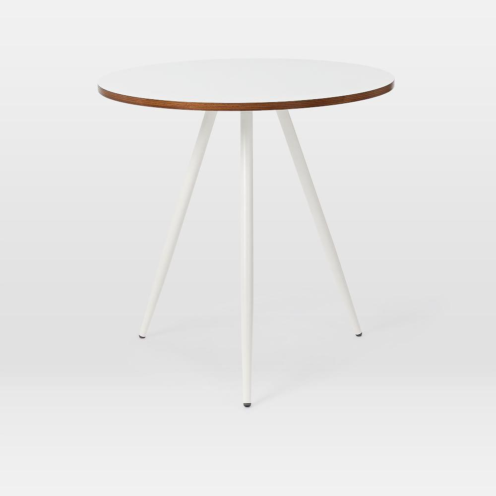 Wren Bistro Table - White Laminate