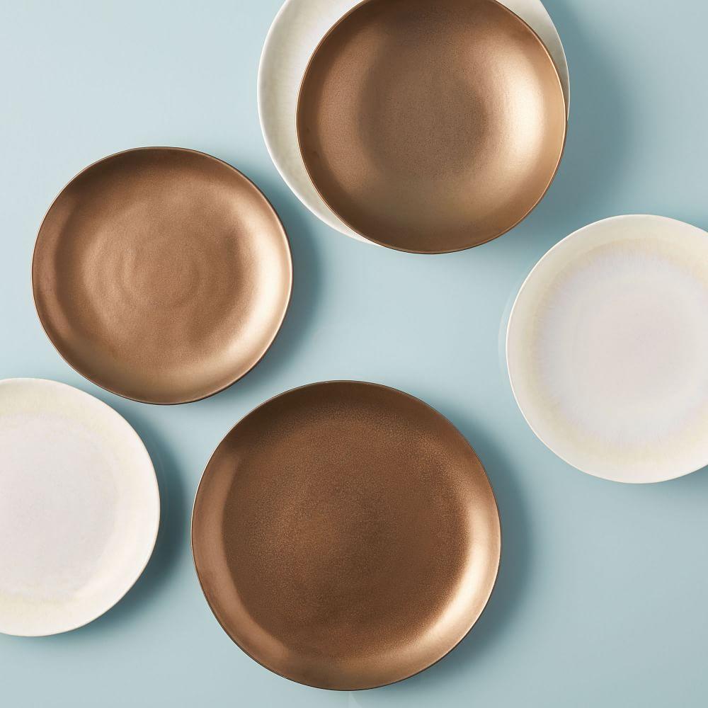 Reactive Glaze Dinnerware - Bronze