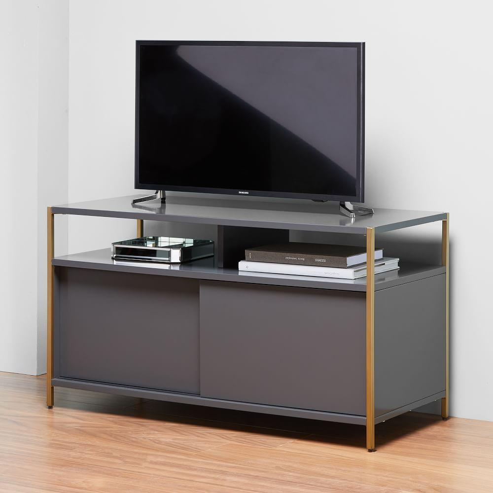 Zane Media Console (102 cm) - Grey