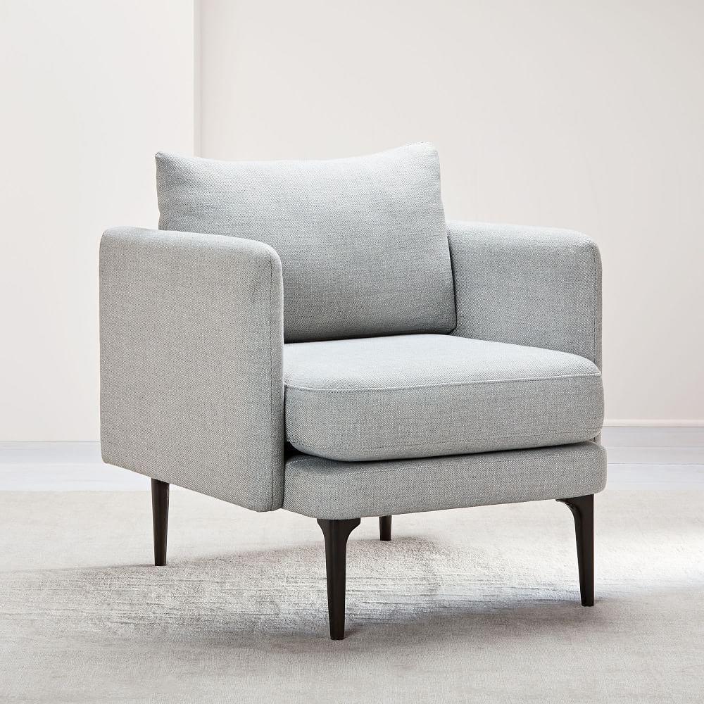 Auburn Chair - Platinum (Twill)