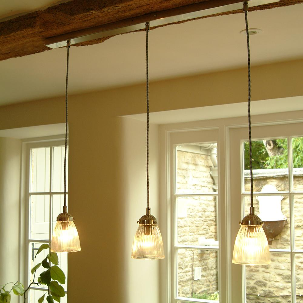 Ceiling Lights Dining Table : Trio of paris ceiling light