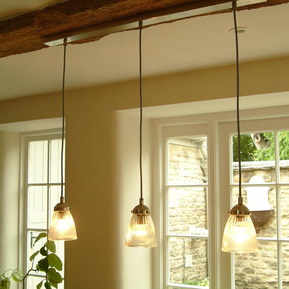 Ceiling Lights Dining Table : Trio of paris ceiling light