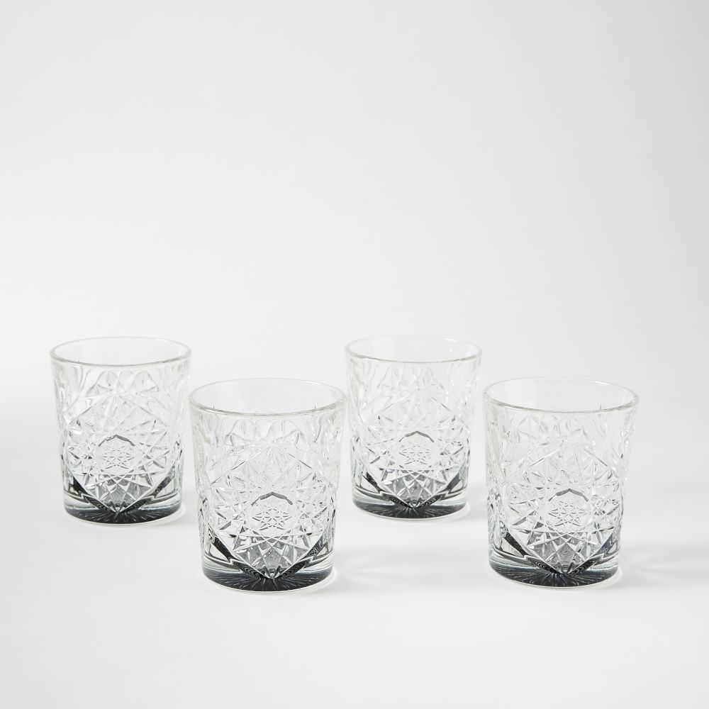 Decorated Hobstar Glassware