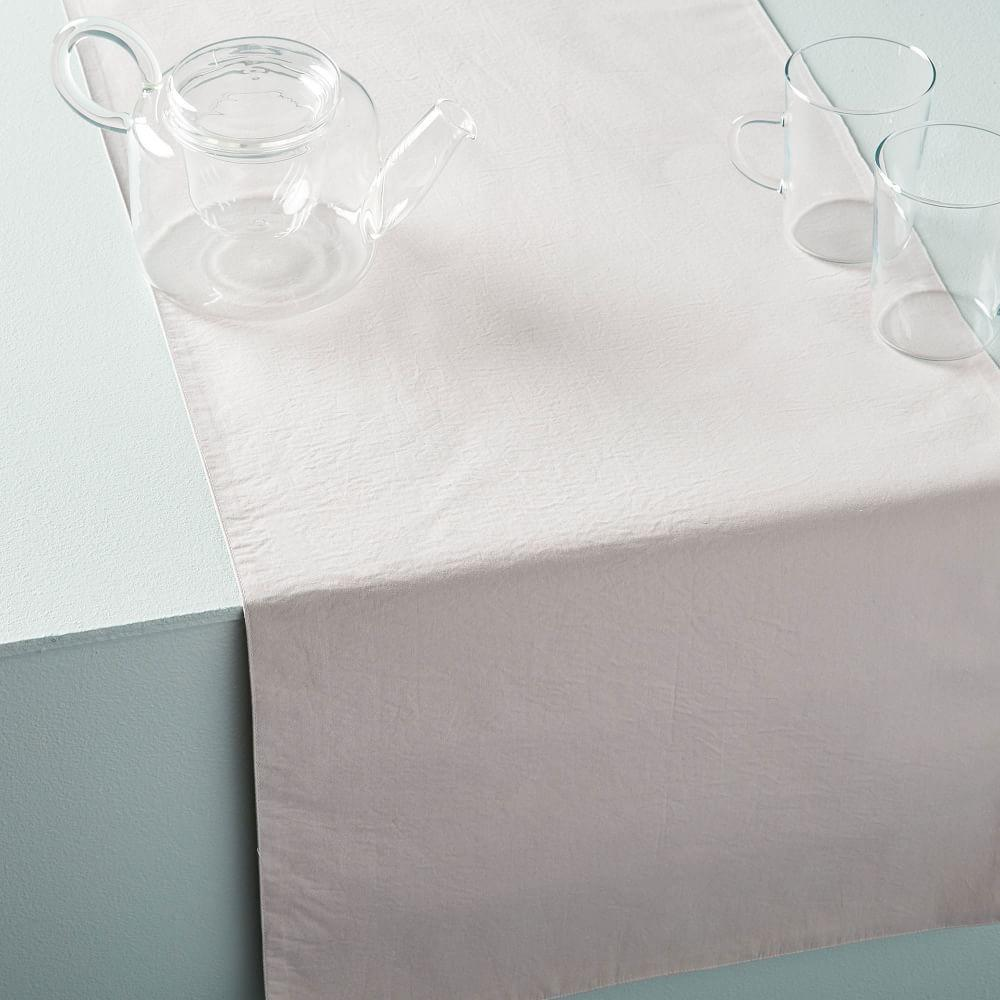 Organic Washed Cotton Runner