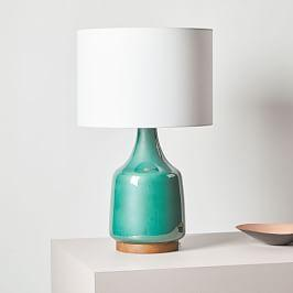 Morten Table Lamp - Emerald