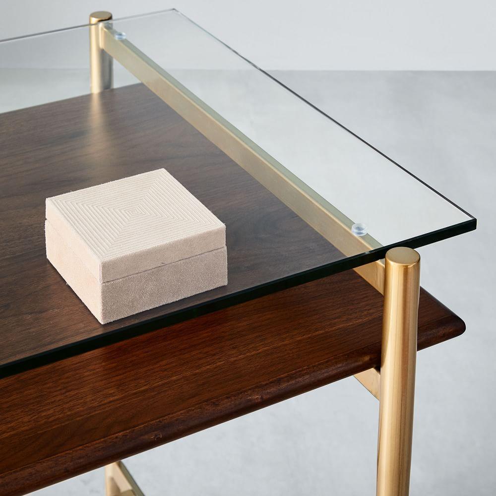 Mid-Century Art Display Mini Desk