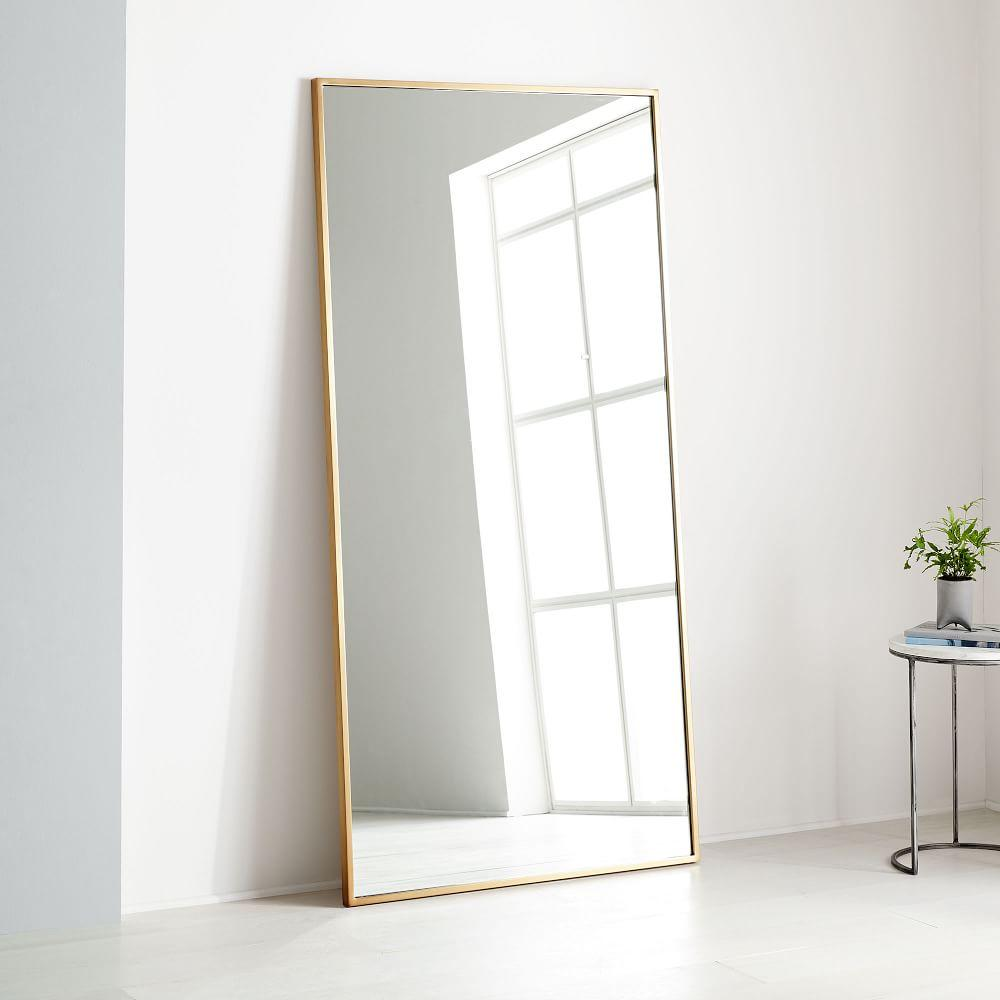 Metal Frame 198 Cm Floor Mirror