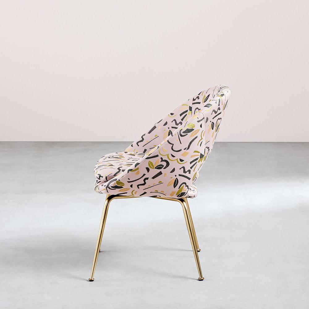 Orb Upholstered Dining Chair - Pop Art Jacquard
