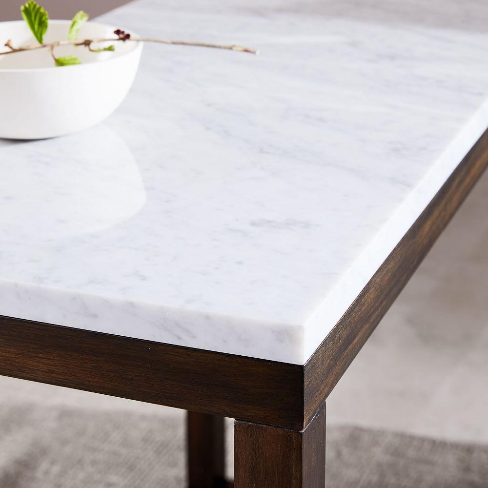 Wood Frame Side Table