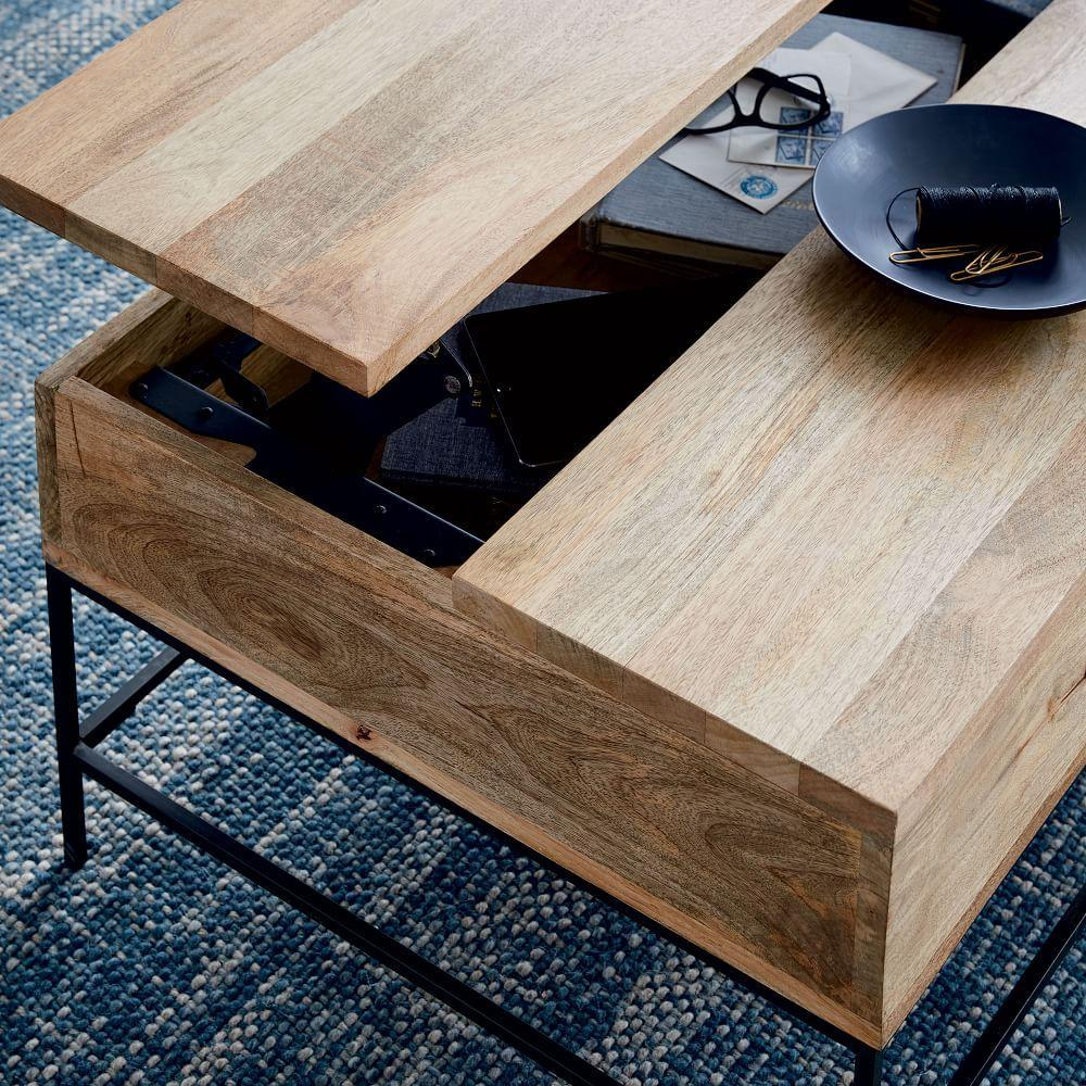 Industrial Storage Coffee Table - Small (91 cm)