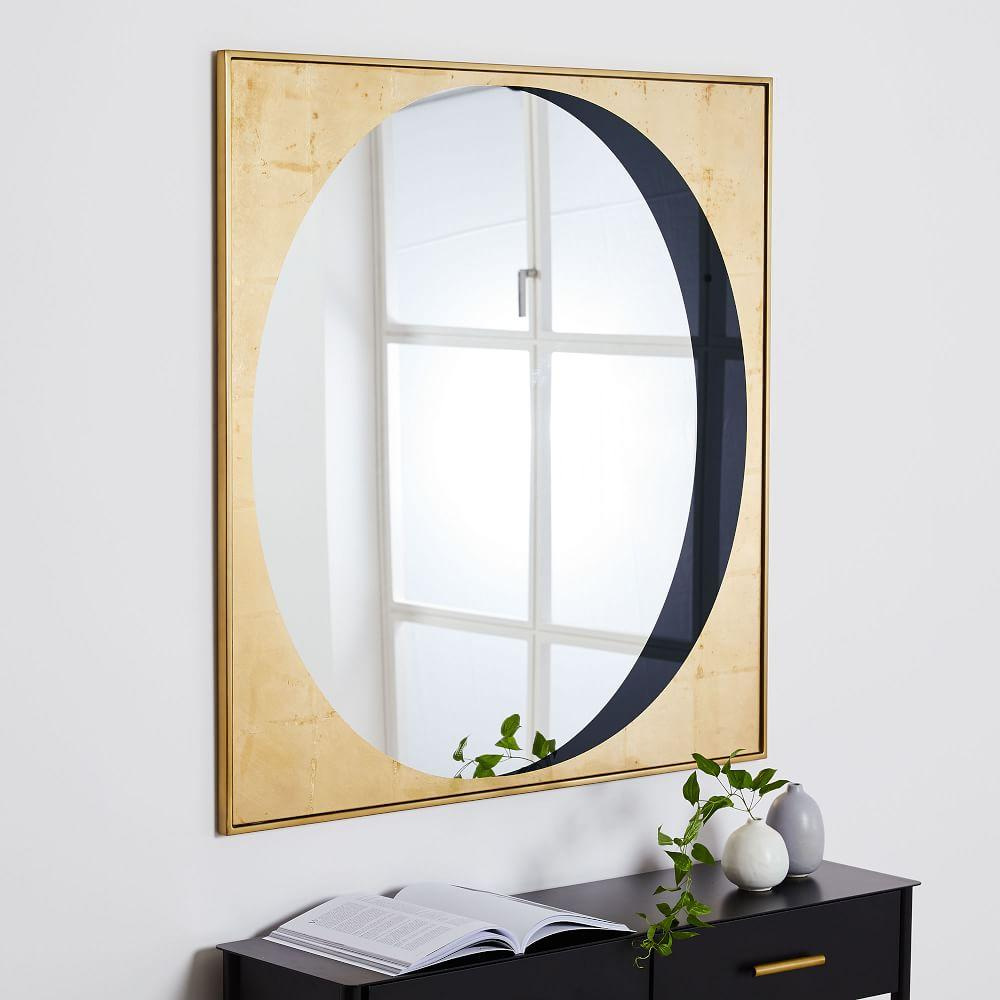 Gilded Eclipse Wall Mirror