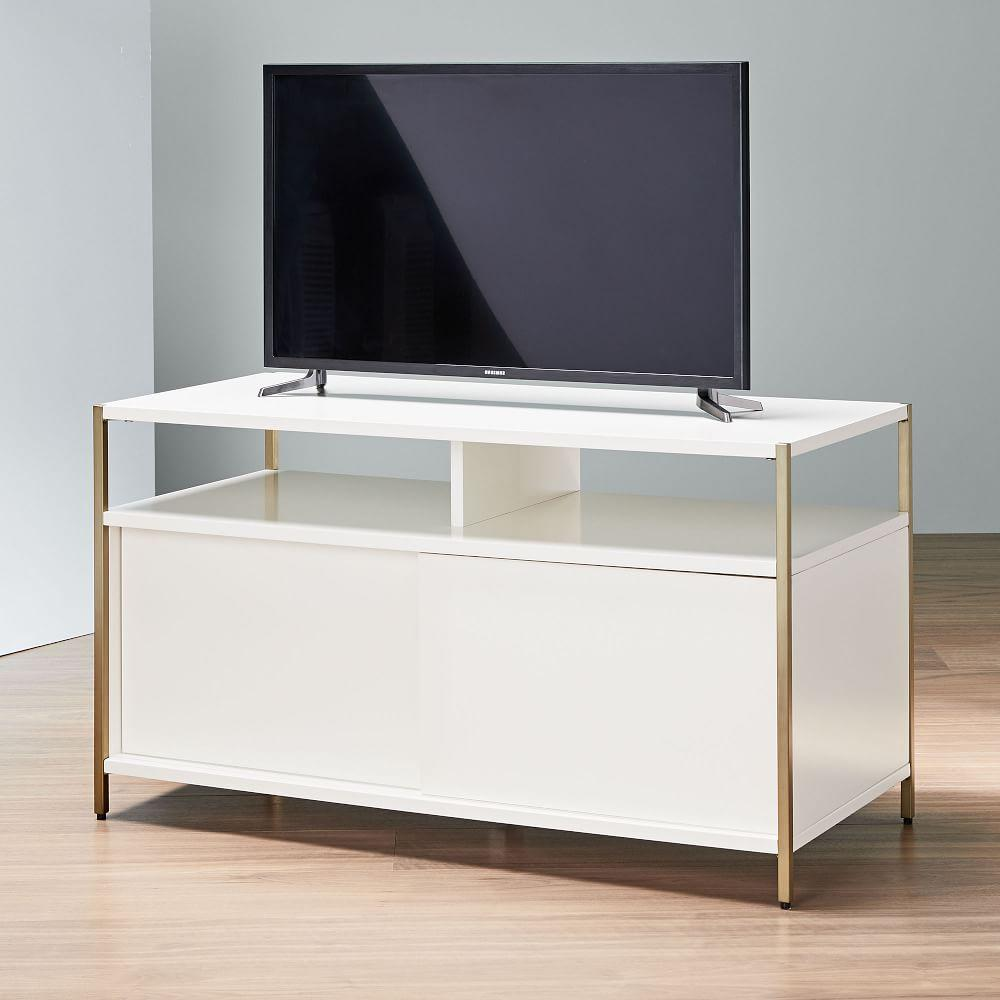 Zane Media Console (102 cm) - White