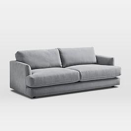 Haven Sofa (213 cm) - Feather Grey (Performance Washed Canvas)