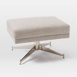 Hemming Swivel Footstool