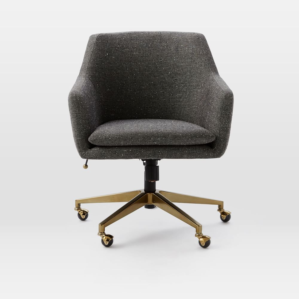 Helvetica Upholstered Office Chair