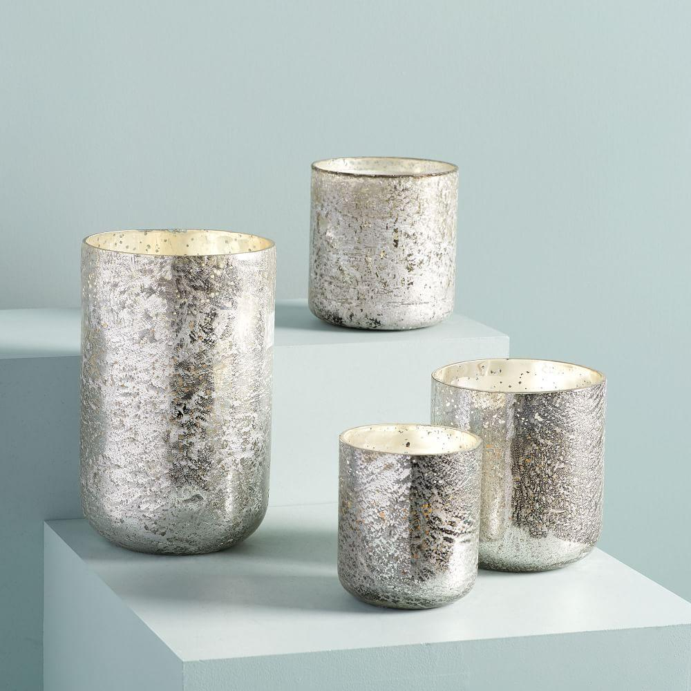 Sanded Mercury Candles