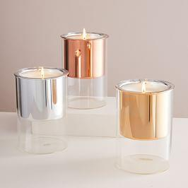 Floating Glass Candles