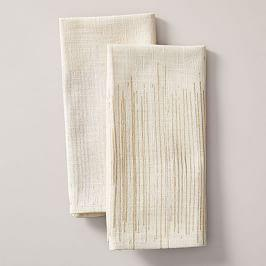 Luxe Lines Printed Napkin Set