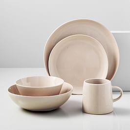 Richmond Speckled Dinnerware - Warm Rose