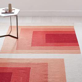 Optic Blocks Rug Runner