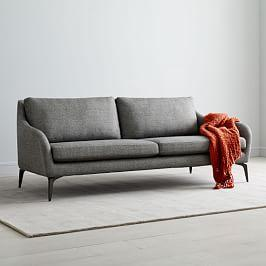 Alto Sofa (212 cm) - Granite (Twill)