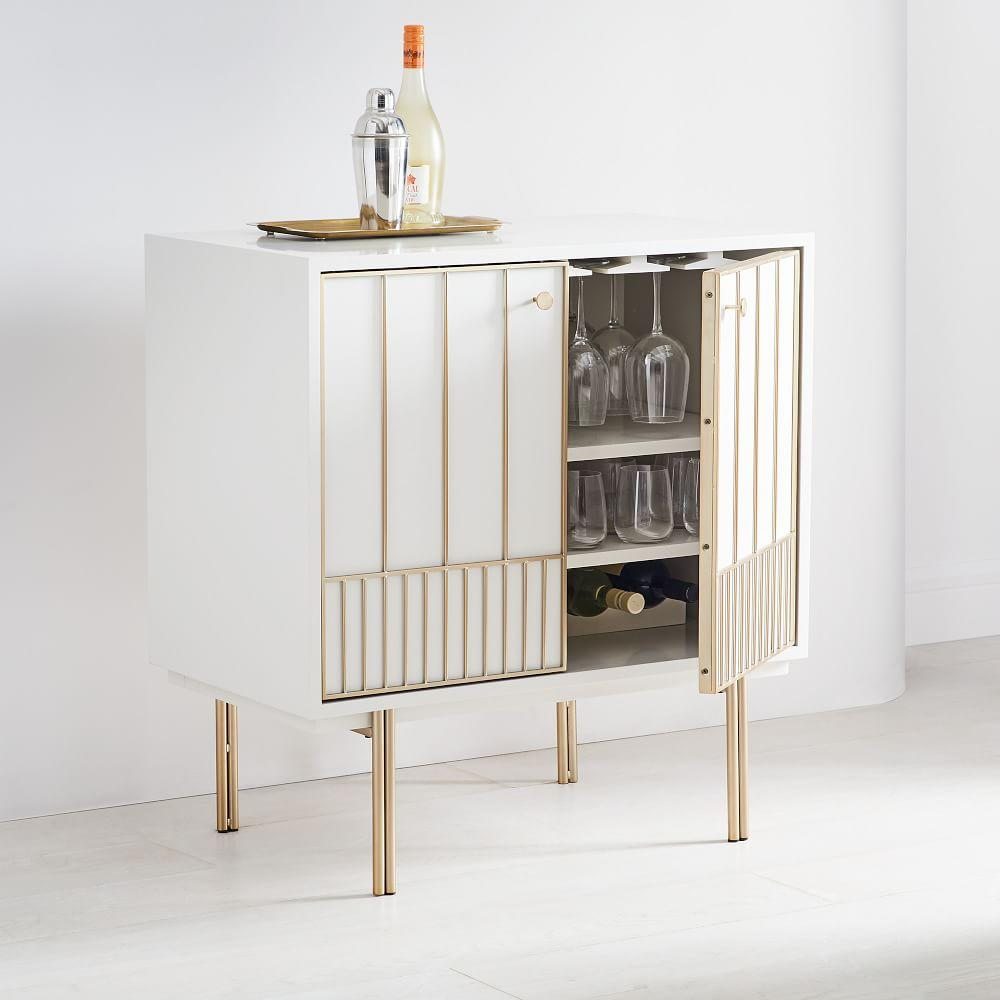Zelda Bar Cabinet West Elm Uk