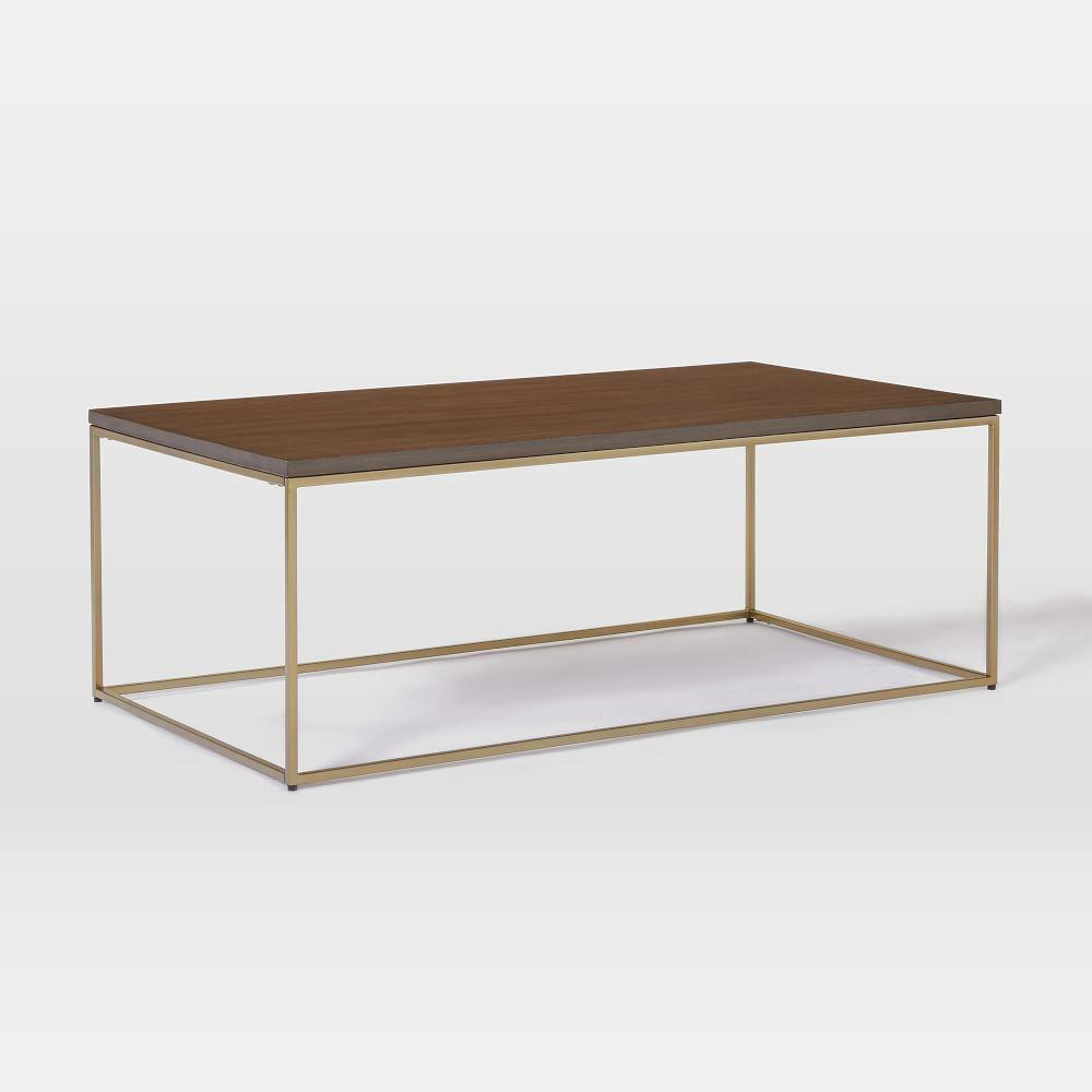 Streamline Coffee Table (112 cm) - Dark Walnut