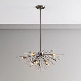 Sputnik Chandelier - Blackened Nickel