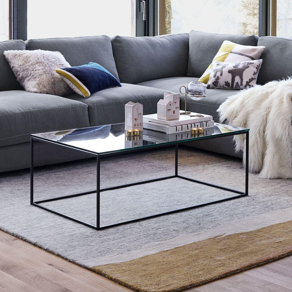 Streamline Coffee Table (112 Cm) - Glass
