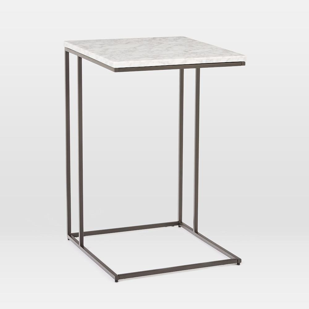 Streamline C-Side Table (41 cm) - Marble