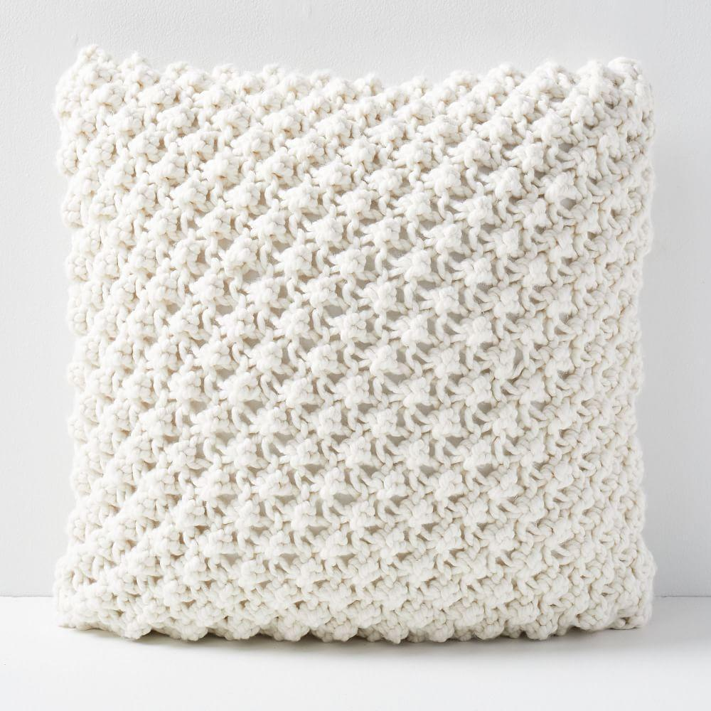 Bobble Knit Cushion Covers | west elm UK