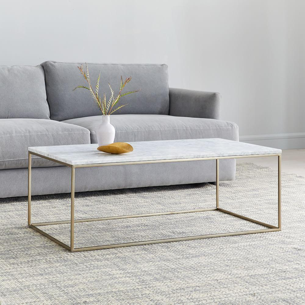 Streamline Coffee Table (112 cm) - Marble