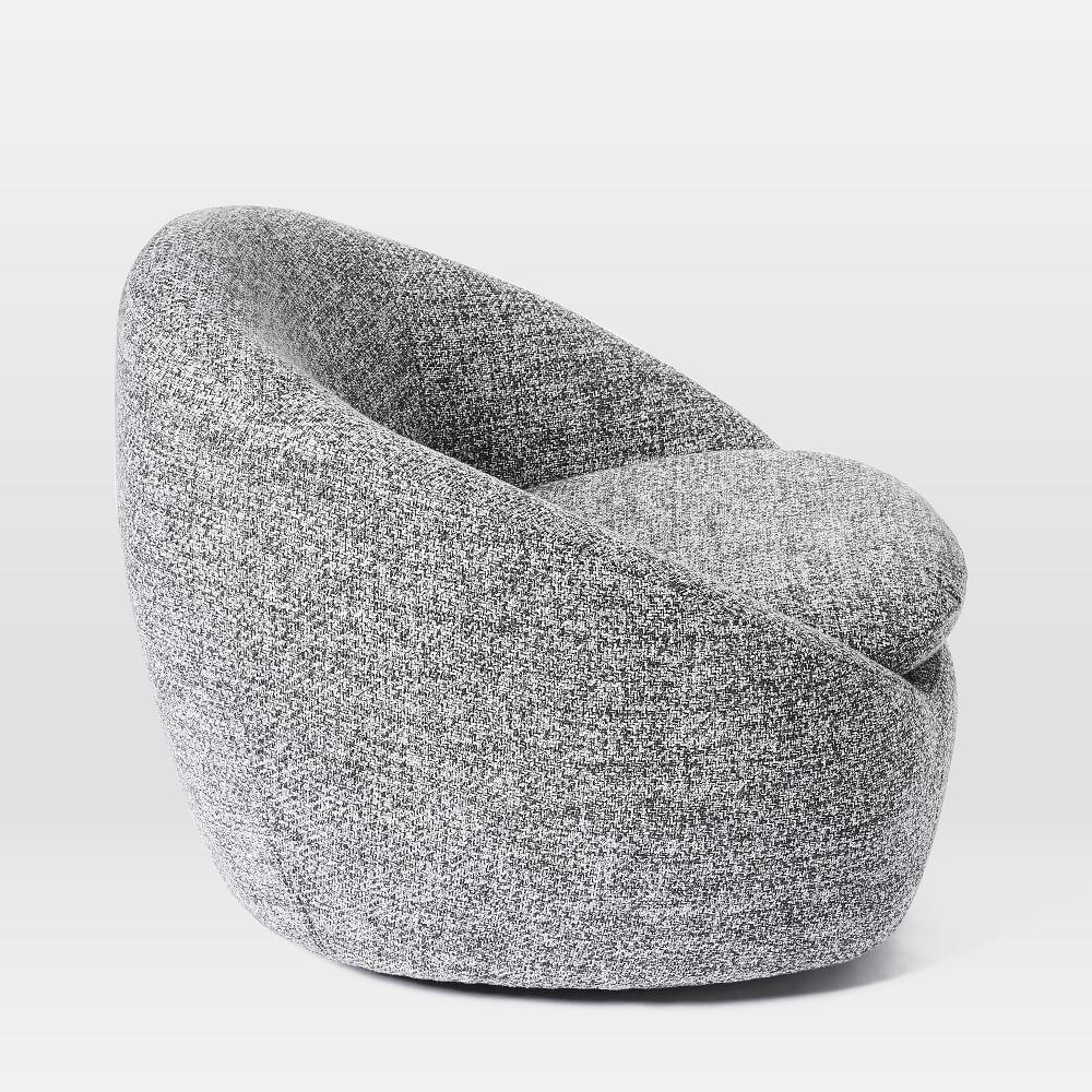 Cosy Swivel Chair West Elm Uk