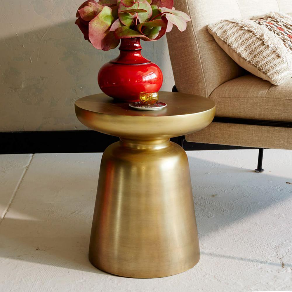 Martini Side Table - Metallics