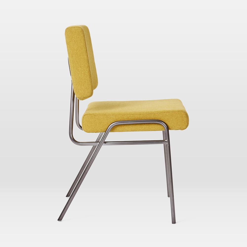 Wire Frame Upholstered Dining Chair - Horseradish