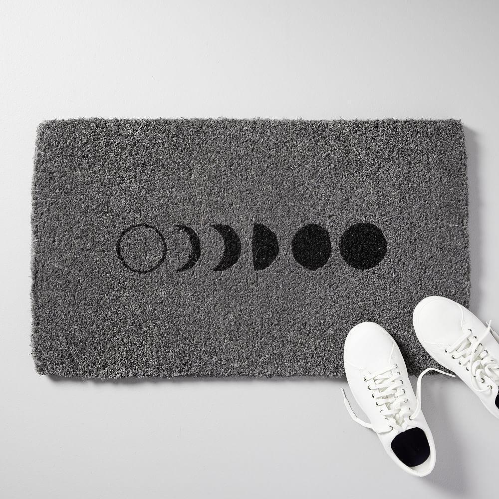 Moon Phase Doormat | west elm UK