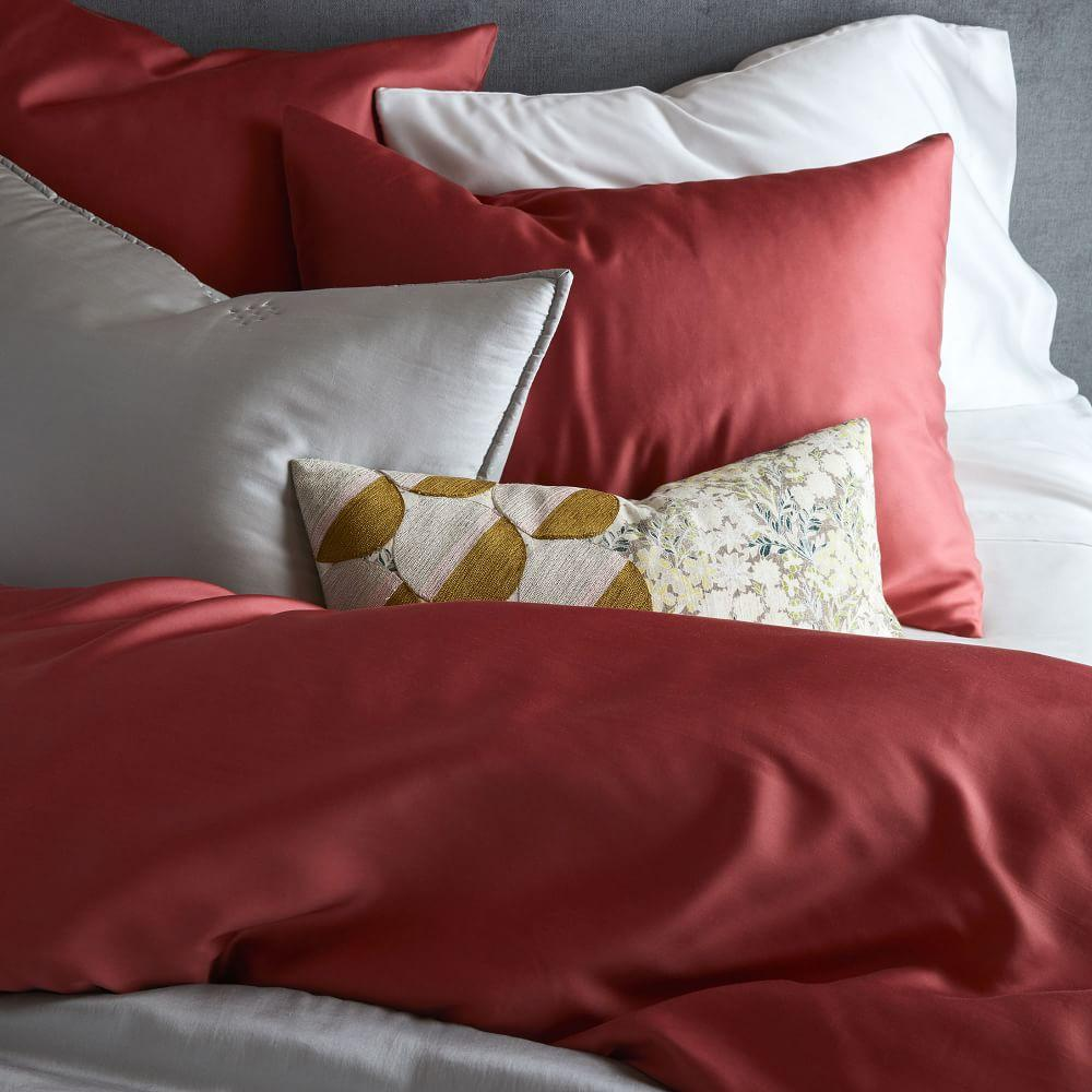 TENCEL™ Duvet Cover + Pillowcases -  Pink Grapefruit