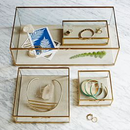 Jewellery Boxes + Stands