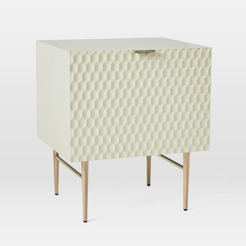Audrey 1-Door Media Storage Unit