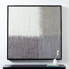 Felt Wall Art - Grey Ombre