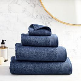 Organic Luxe Fibrosoft™ Towels - Midnight