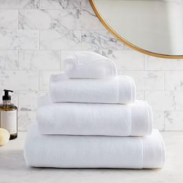 Organic Luxe Fibrosoft™ Towels - White